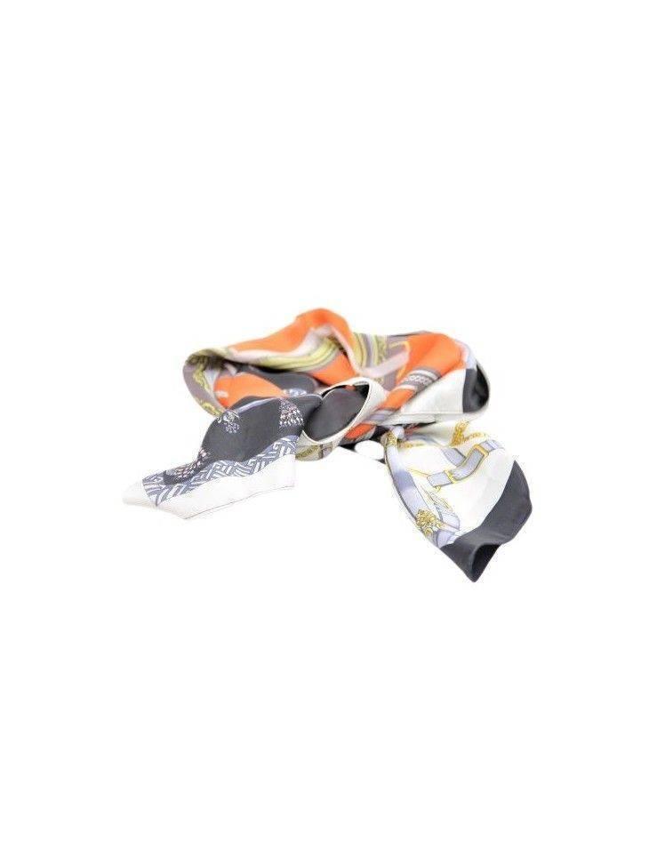 Esarfa batic multicolor din vascoza